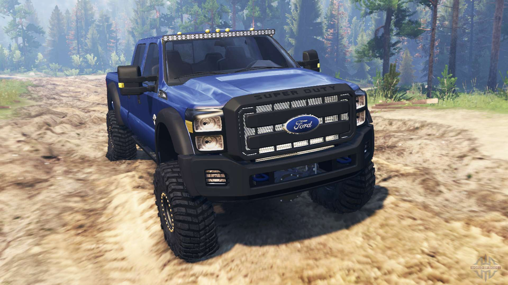 Ford F 450 2014 For Spin Tires