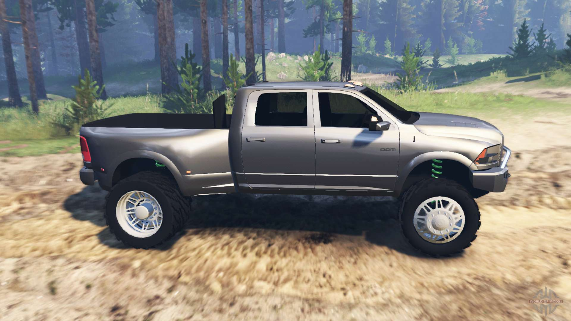 Spintires on 01 Dodge Ram 3500
