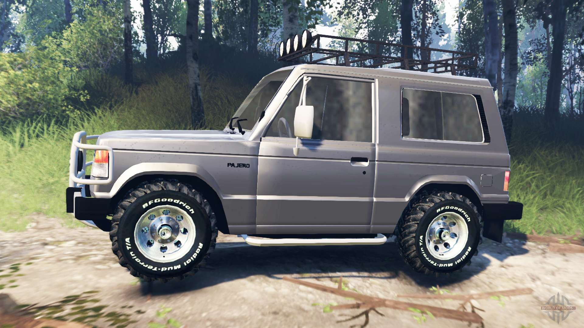 Mitsubishi pajero i v3 0 for spin tires