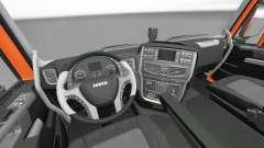 New interior tractors Iveco