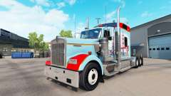 Skin San Francisco on the truck Kenworth W900