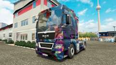 The Fractal Flame skin for MAN truck