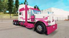 Skin Trucking for a Cure for the truck Peterbilt