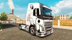 Wayang skin for Volvo truck for Euro Truck Simulator 2