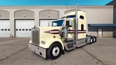 Skin Cream on the truck Kenworth W900