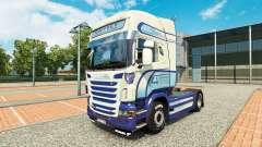 Caffrey International skin for Scania truck