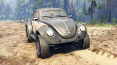 Volkswagen Beetle Custom for Spin Tires