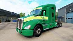 Skin on Freightlines Kenworth tractor