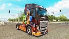 Diablo II skin for Volvo truck for Euro Truck Simulator 2