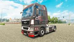 Grey Red skin for MAN truck
