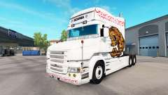 Bear skin for truck Scania T