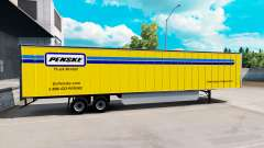 Penske skin for the trailer