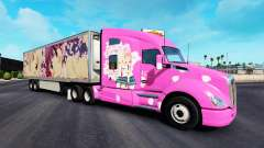 Skin Sakura for trucks and Peterbilt Kenwort