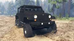 Jeep Wrangler 6x6 Turbo