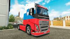 Slovenia skin for Volvo truck for Euro Truck Simulator 2