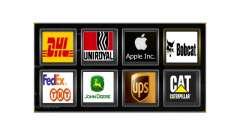 Logos of actual companies