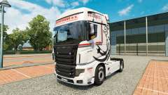 Skin NikoTrans on tractor Scania R700