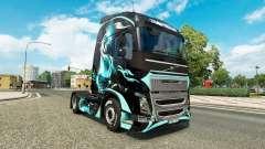 Skin Dragon for truck Volvo for Euro Truck Simulator 2