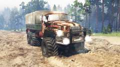 Ural-4320 for Spin Tires