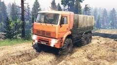 KamAZ-6522 v4.0 for Spin Tires