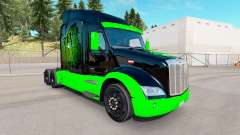 Monster Energy skin for the truck Peterbilt