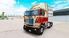 Skin on Sherman Bros truck Freightliner FLB