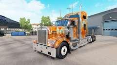Skin Rust on the truck Kenworth W900