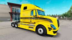Robert Transport skin for Volvo truck VNL 670