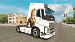 Vikings skin for Volvo truck