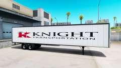 All-metal semitrailer Knight
