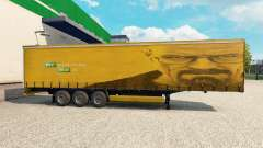The skin of Walter White in the trailer for Euro Truck Simulator 2
