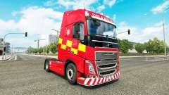 Skin Fire & Rescue at Volvo trucks
