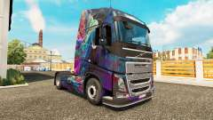 The Fractal Flame skin for Volvo truck
