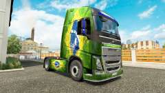 Skin Brasil at Volvo trucks