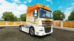 Houghton skin for DAF truck for Euro Truck Simulator 2