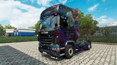 The Fractal Flame skin for Scania truck