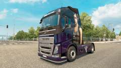 Skin The Last Of Us at Volvo trucks for Euro Truck Simulator 2