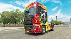 Skin Rostrans Disney Scania R700 truck