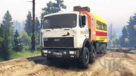 MZKT-7401 Volat for Spin Tires