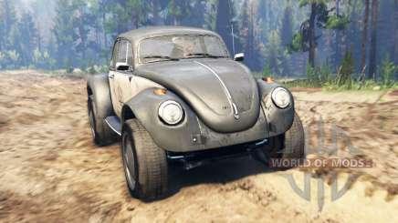 Volkswagen Beetle Custom for Spin Tires
