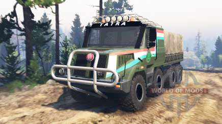 Tatra 163 Jamal 8x8 [update] for Spin Tires