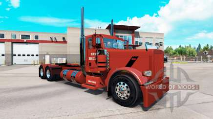 Skin Hawk Hauling for the truck Peterbilt 389 for American Truck Simulator