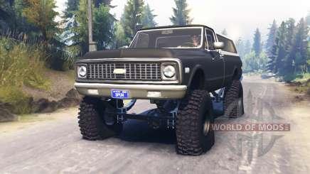 Chevrolet K5 Blazer 1972 for Spin Tires