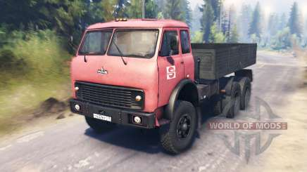 MAZ-516Б for Spin Tires