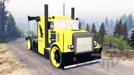 Peterbilt 389 Sport for Spin Tires