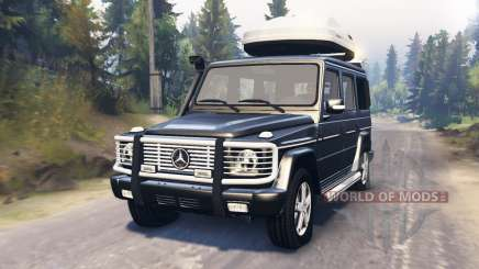 Mercedes-Benz G 500 for Spin Tires