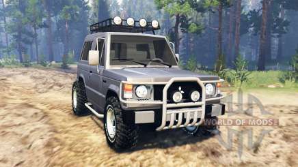Mitsubishi Pajero I v2.0 for Spin Tires