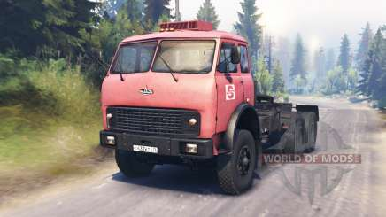MAZ-515Б for Spin Tires