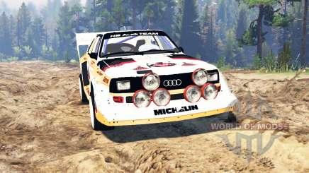 Audi Sport quattro S1 v2.0 for Spin Tires