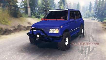 Suzuki Grand Vitara for Spin Tires